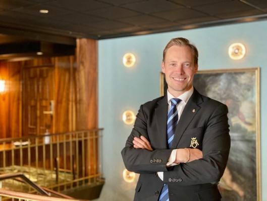 SJEF: Direktør Lars Petter Mathisen er stolt over å representere Thon Hotel Bristol.