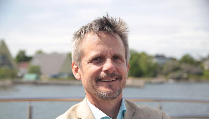 GLAD: Christian Lunde, administrerende direktør i VisitOSLO er glad for at Oslo Plaza igjen har åpne dører.