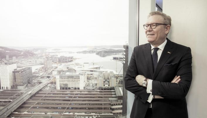 DIREKTØR: Tarje Hellbust håper gjestene igjen finner veien til Oslos høyeste hotell.